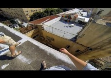 Israel roofs POV – Extraordinary tourists.