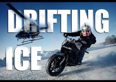 Extreme Motorcycle Drifting On Ice – Jorian Ponomareff.