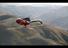 Aerobatic helicopter tricks with Chuck Aaron.