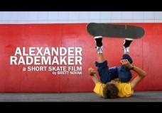 Alexander Rademaker: a Short Skate Film.