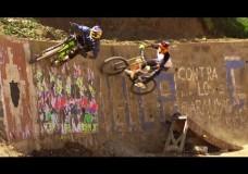 Urban Mountain Bike Madness in Peru.