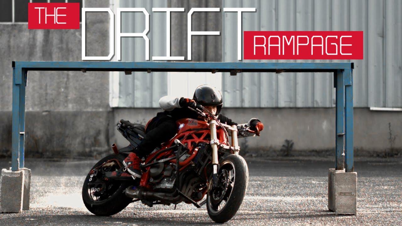 Motorcycle Gymkhana Romain Jeandrot  The Drift Rampage