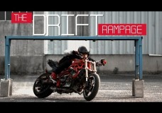 Motorcycle Gymkhana Romain Jeandrot : The Drift Rampage.
