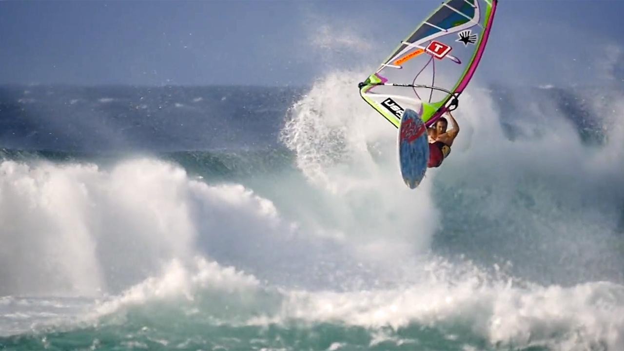 SOME DAYS - Graham Ezzy windsurfing Hookipa 2