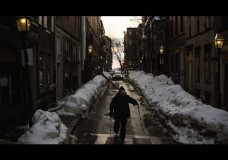 Skiers Turn Boston Streets Into Playground During Record Breaking Winter.