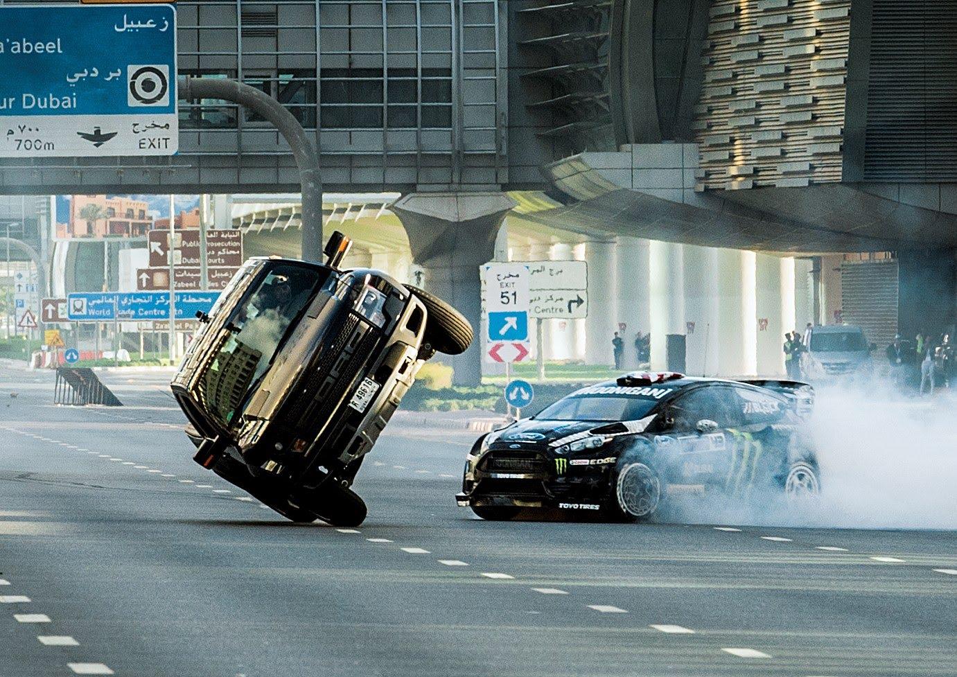 KEN BLOCK'S GYMKHANA EIGHT ULTIMATE EXOTIC PLAYGROUND DUBAI 1