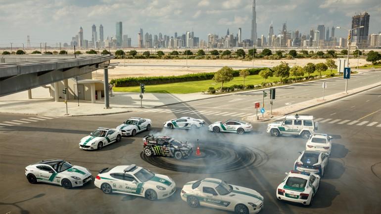 KEN BLOCK'S GYMKHANA EIGHT ULTIMATE EXOTIC PLAYGROUND DUBAI 3