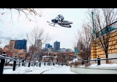 Urban Snowmobiling in Saint Paul | Levi LaVallee.
