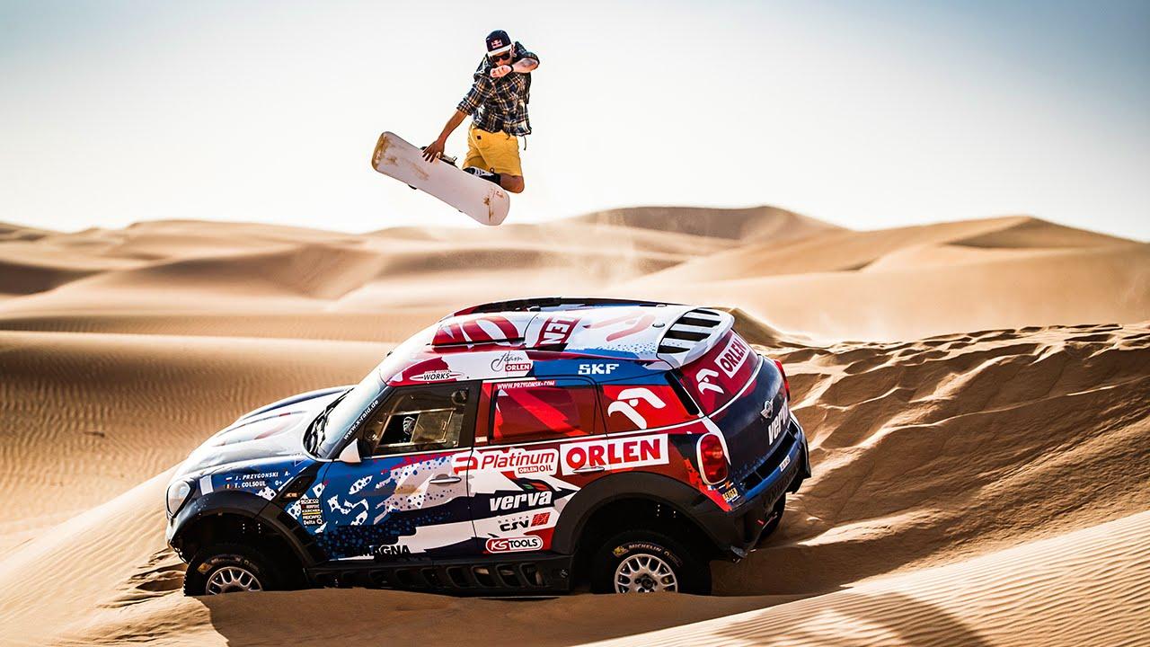 Dune Shredding - Snowboarding in the Desert 1
