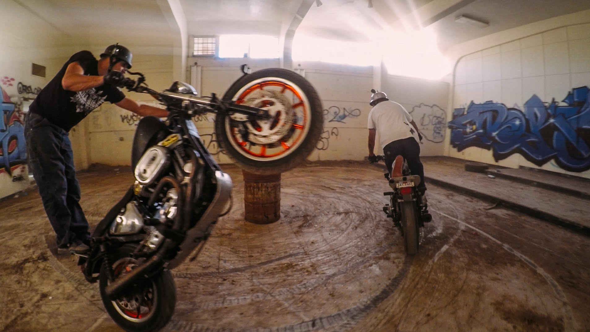 GoPro: Wild Wheelies at an Abandoned Jail.