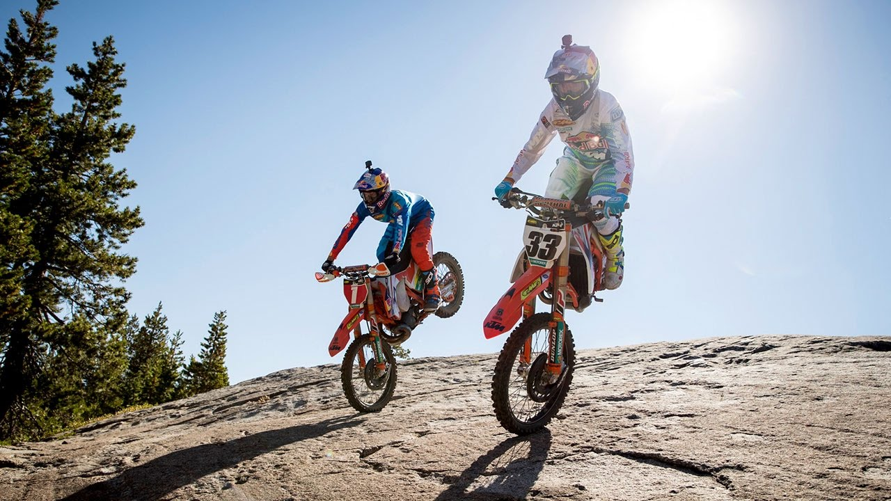 Shredding the Ultimate Hard Enduro Playground at a Classic Tahoe Ski Hill | Donner Partying 2016.