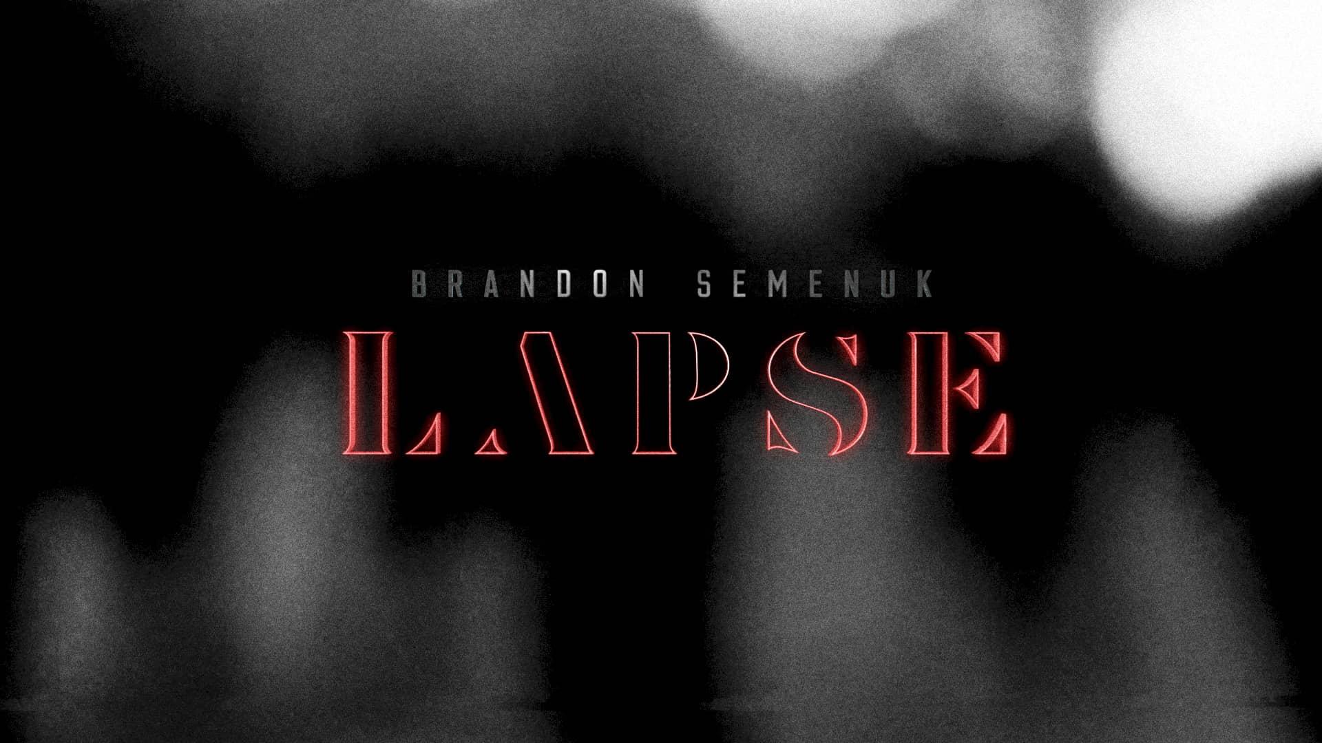 LAPSE: Brandon Semenuk.